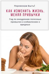 Как изменить привычки | Переменам Быть